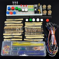 jumper cables - generic parts package For Arduino kit V V power module MB points Breadboard Flexible cables jumper wire box