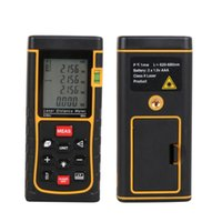 Wholesale Hot Sale ZE m ft Digital Laser Distance Meter Range Finder Automatic Calculation Digital Distance Measurer