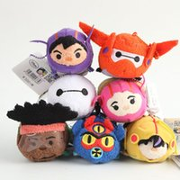 big movie screens - Big Hero plush toy quot Mini Tsum Tsum collection Plush toys Mobile Screen Cleaner For Mobile Phone