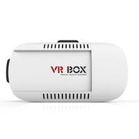 Wholesale 2016 Google Cardboard VR BOX Pro Version Virtual Reality D Glasses Smart Bluetooth Wireless Mouse Remote Control Gamepad for