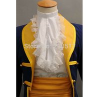 adam beauty - brand new set Beauty and the Beast cosplay clothes Prince Adam Cosplay Costume Holloween clothes Costume F