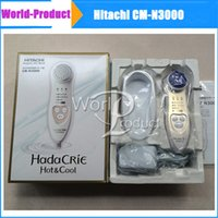 Wholesale 2015 Hot Fashion HITACHI CM N3000 Hada Crie Cool Facial Moisturizer Massager US EU model vs CM N2000 Homeuse Beauty Instument