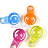 Wholesale 2014 New Practical Kitchen Tool Egg Tools Plastic Egg Dividers Mini Candy Color Egg White Separator