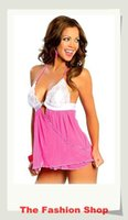 baby doll lingeries - Sexy Pink Lingeries Dress Baby Dolls YH6138 Free Size