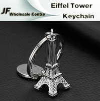 gift item wholesale - Paris Eiffel Tower Keychain Novelty Items Aluminum Metal Innovative cm Gadget Trinket Souvenir Christmas Gift Keychain keyring