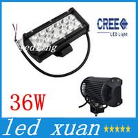 Wholesale 2pcs Waterproof Aluminium Inch W Cree LED Work Light Bar LM Spot Beam ALL Cars x4 Off Road Lamp hours Life