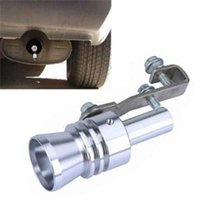 Wholesale 2014 New Size XL Turbo Sound Fake Blow Off Simulator Universal Car Exhaust Muffler Pipe Whistle