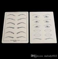 Wholesale Good Quality Mixed Eyebrow Lips Practice Skin Professional Tattoo Design Fake Skins
