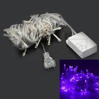 Cheap Wholesale-US 110V 10 M 100 LED Decorate RGB NexScene LED String Fairy Light for Wedding Christmas Party Holiday Trees walls