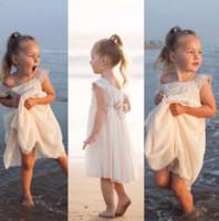 Wholesale Hot Sale Children Clothes Summer Elegant Girl Princess Dress Crochet Baby Girl Lace Flower Dress Princess Dress Party Dress