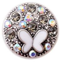 african owls - D00246 newest noosa owl rivca chunk button for bracelet jewelry noosa chunk