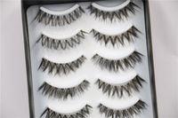 best fake lashes - Best False Eyelashes Long Thick Voluminous Mink Fur Eyelash Eyes Makeup Fake Eye Lash Extensions Black Lashes Beauty Accessories Pairs Set
