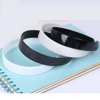 Wholesale Plastic Hairband Headband Band Girls Women Hair Accessories White Black