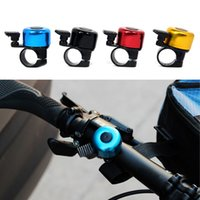 Wholesale New Aluminum alloy Bicycle Bell Bike Bell Sound Resounding High Quality Bike Handlebar Ring Horn Color B017