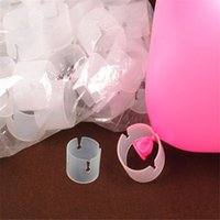 arch balloons for parties - 50pcs Balloon Clip Party Supply Wedding Clip Arches Buckle For Balloons And Retail