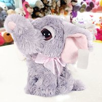 big cat collection - piece cm Assorted Big Eyes Animals Sitting Panda Elephant Donkey Cats Cute Soft Plush Dolls Kids Toys Gift Collection