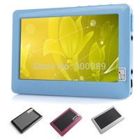 Wholesale New inch TFT Touch Screen GB MP3 MP4 MP5 Player FM Radio Video E book TV Out Including Earphone Russian