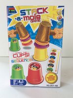 Wholesale New arrival board games Whac A Mole Stack A Mole is good FREE SHIPING