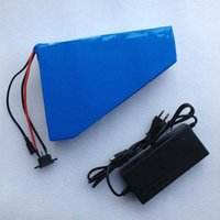 motor scooters for sale - Triangle electric bike batteries v ah lithium ion battery for w motor e bike scooter kit charger hot sale brand new