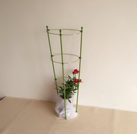 Wholesale 45cm PVC Coated Waterproof Garden Planter Green Folding Garden Trellis Plant Flower Supporter