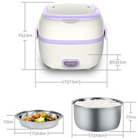Wholesale hot sale mini rice cooker Electric Lunch Box full automatic bento box L heat preservation kitchen dinnerware