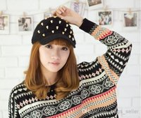 angora yarn lot - Skull Winter Caps For Women Backpack Style Sunday Angora Yarns Mix Colors New Arrvial C17