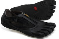 Wholesale Breathing Fivefingers Shoes For Men Morning Running Shoes Genuine Leather