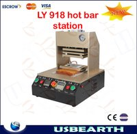 air compressor station - Automatic apple mobile frame hot bar machine with built in air compressor for iphone LY hot bar station