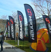 beach flag poles - Advertising Beach Flag BF04 Size cm Meters Pole Height Blade Shape Full Color Size cm DHL