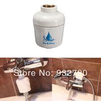 bath water purifier - of home Kitchen In Line Bathroom Shower Bath Head Filter Water Softener Universal New order lt no track