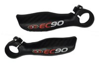 Wholesale Ergonomic Desige Full Carbon Fibre Handlebar Bar Ends Mountain Bike MTB Road Bike Carbon Bicycle Parts mm