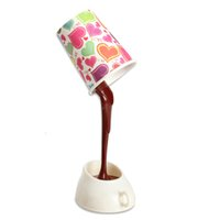 c7 via - Creative DIY LED Coffee Mug Light Energy Saving Cup Lamps with USB Novelty Lighting Via DHL