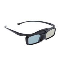 Wholesale ABS SG16 BT Bluetooth Rechargeable D Active Shutter Glasses for Bluetooth D TV Projector D Glasses blue film video