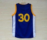 Wholesale 2015 Basketball Jerseys Jersey Blue White Black Color MVP Size S XXXL Stitched Mix Match Order