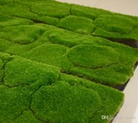 Wholesale Artificial Grass Moss Lawn Plant Wall Dress Turf Sod Meadow Home Garden Decor EPE Fluffy Emulation Moss Turf