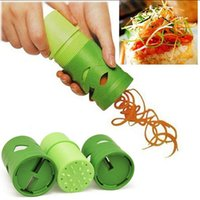 Wholesale 1 Vegetable Fruit Veggie Twister Cutter Slicer Processing Kitchen Tool Garnis Hot sell Freeshipping ZH047