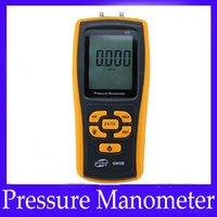 Wholesale pressure gauge Digital different pressure manometer GM520