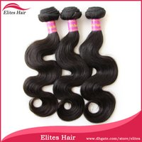 elites hair - Elites Hair A Grade UNPROCESSED Brazilian Virgin BEST TOP Quality Hair Weave Body Wave DHL BH603