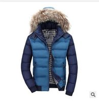 Wholesale Fall New Winter Men s High Collar Casual Cotton Mens Winter Canada Down Jacket Men Winter Parka Famous Brand