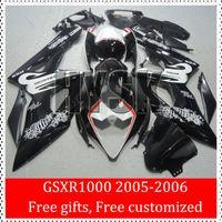 beacon painting - 2005 GSXR1000 GSXR GSX R1000 K5 Fairing Kits Of Suzuki Beacon Motorcycle Cowling Set Black White Custom Painting Bodywork