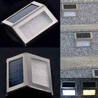 led solar lights - 2015 LED Solar Light Lamps Solar Led Flood Lights Leds Garden Lights Outdoor Waterproof Landscape Lawn Lamp Solar Wall Lamps Solar Lights