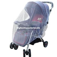 Wholesale 2014 New Infants Baby Stroller Mosquito Net Buggy Pram Protector Pushchair Fly Midge Insect Bug Cover