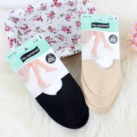basic slippers - colors basic hidden thin floor slippers socks for women s heel shoes pairs