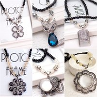 Wholesale 2015 HOT Women Fashion jewelry Mixed Style Vintage Retro Necklaces Pendants G198