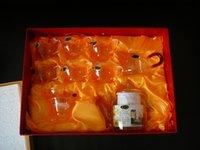tea sets wholesale - ZL glass tea set