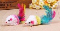 Wholesale Fat Cat Teaser Cat Toy Pet Toys Set Tail Feathers Mouse