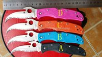 spyderco - New Spyderco C12 Civilian Folding Knife EDC hunting knife Fox Karambit rescue knife knives microtech knives colors