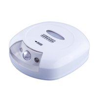 activate save - Body Motion Sensor Activated Automatic LED Energy Saving Toilet Seat Lavatory Night Light Safe Reliable