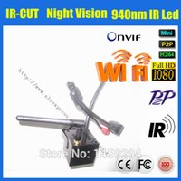 Wholesale Hot nm Invisable IR Leds Indoor Micro Wifi Ip Cam MP Onvif Mini Hidden Wireless P Hd Ip Cctv Security Camera Ip