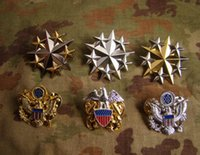 air corps - The United States Marine Corps Air metal badge star general officer rank metal badge badges badges